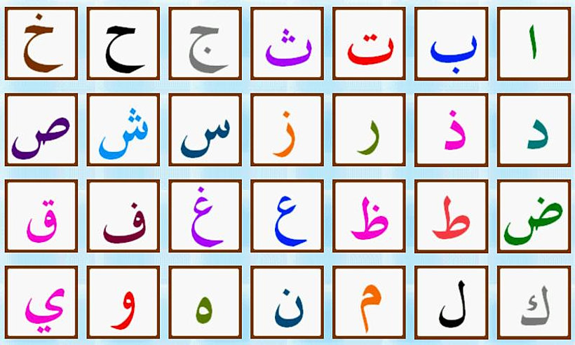 learn-arabic- | Alphabet and Numbers