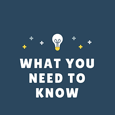 User Info Series - What you need to know