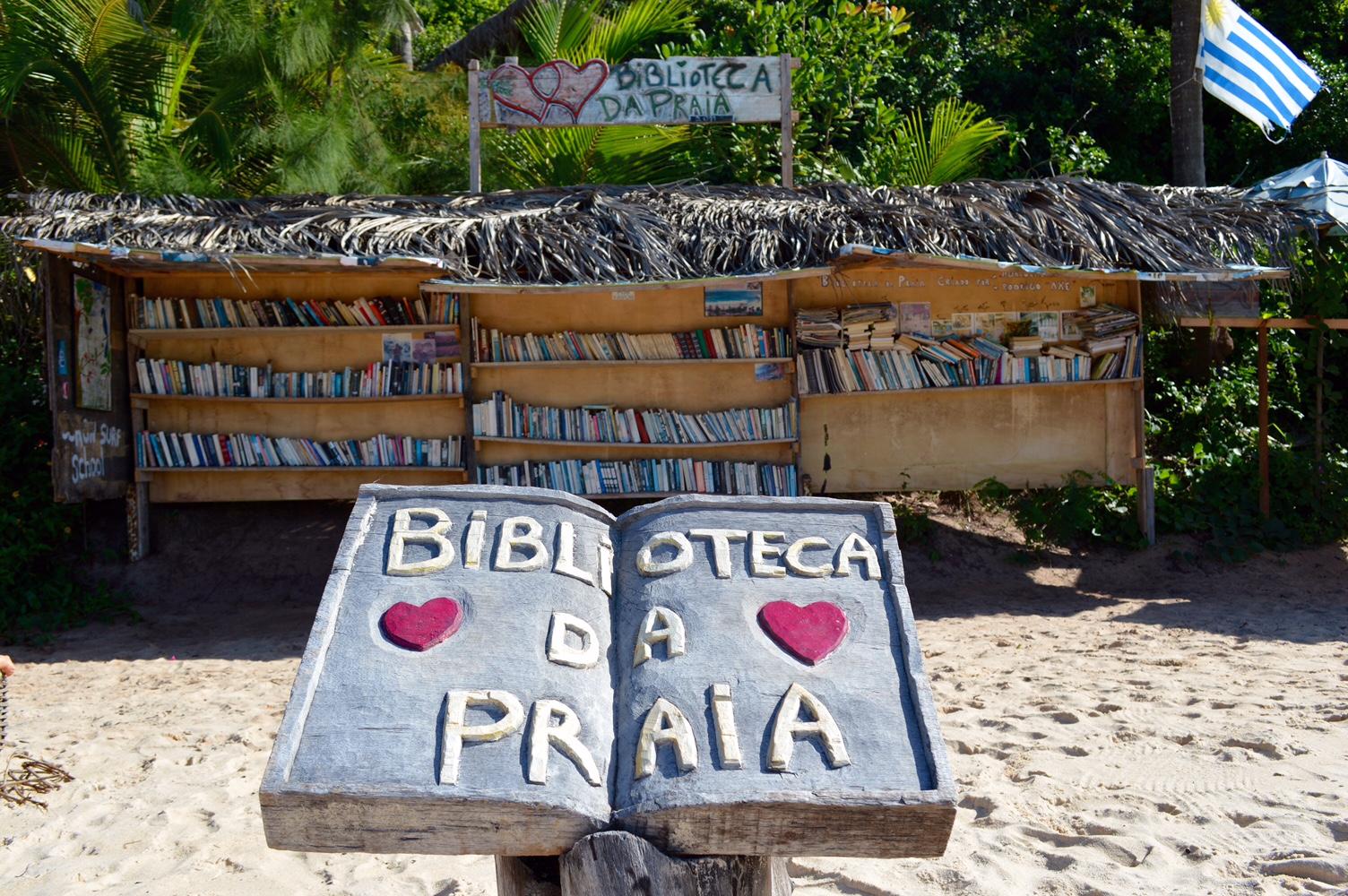 Resultado de imagem para bibliotecas de praia