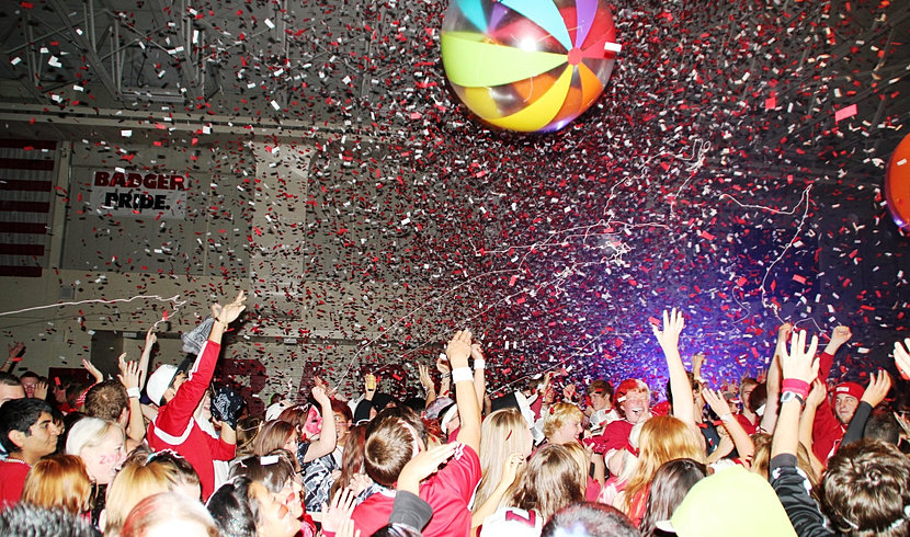 Make your pep assembly amazing pep rally special effects confetti