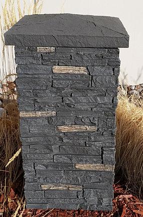 Nextstone Insulated Faux Stone Siding Column Wraps