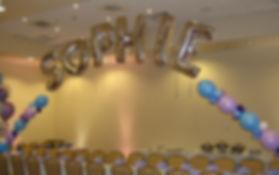 Name Balloon Arch