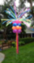 Firecracker Balloon Column