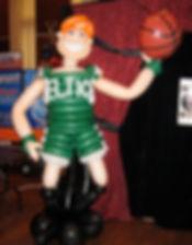 Basketball Player Balloon Sculpture