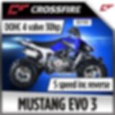 crossfire Mustang Evo 3 atv quad bike