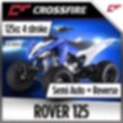 crossfire rover 125cc atv quad bike