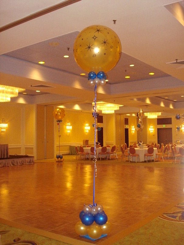 Great event decorations of fairfield county connecticut for Balloon dance floor decoration