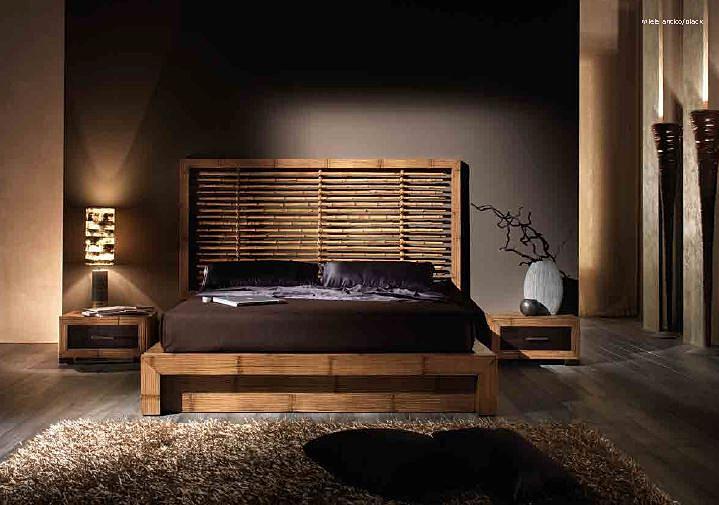 ... per letto in bamboomisure 180x220 h30Comodini Diamantemisure 60x40 h34