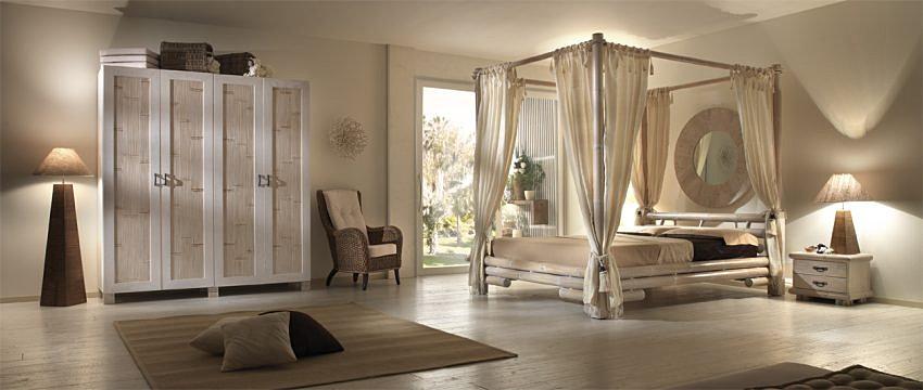Grisoli Arredamento Etnico Roma  Camera da letto con baldacchino