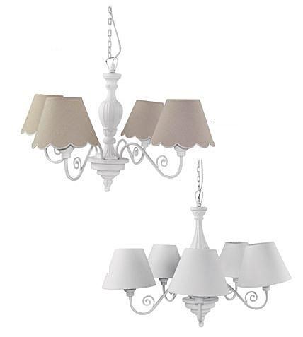 lampadari stile provenzale : Stile Provenzale in metallo e stoffa collezione Lorenzon ...