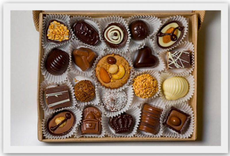 Рецепт конфет из шоколада