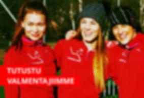 Juoksuvalmentaja Aki Nummela, Simo Wannas, Tuomo Salonen, Carita Riutta, Runner's High