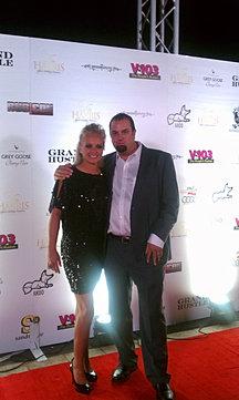 Babi & Walt on Red Carpet-TI Party