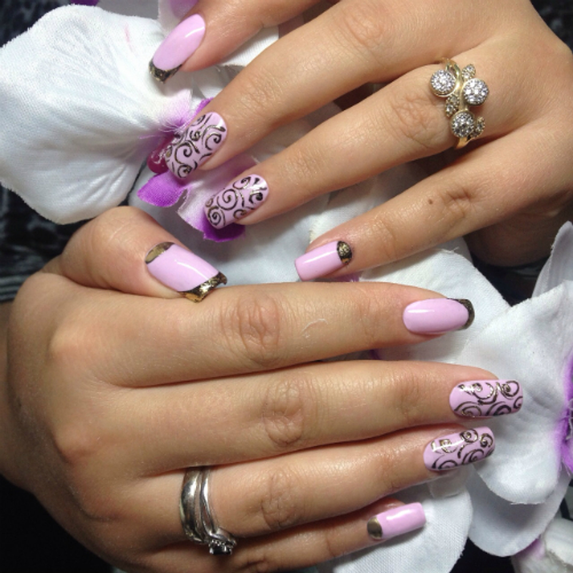 Фото дизайна ногтей работы мастеров