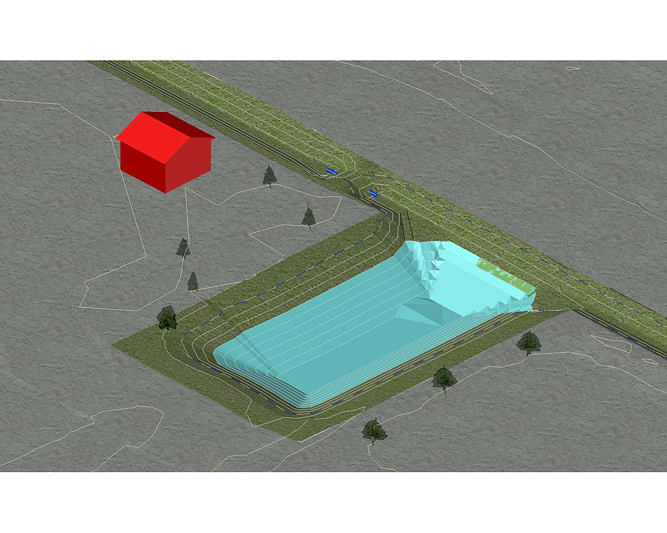 Sedulous engineering for Pond design in civil 3d
