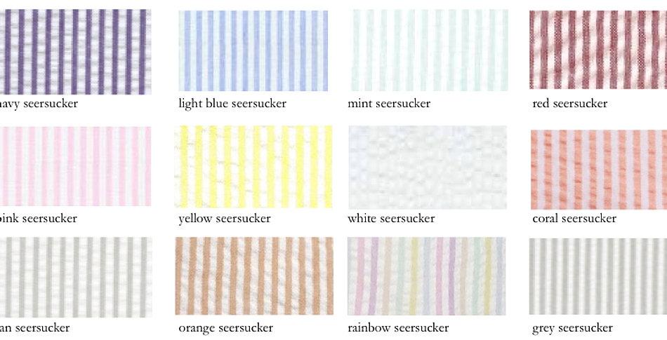 Seersucker Color Card