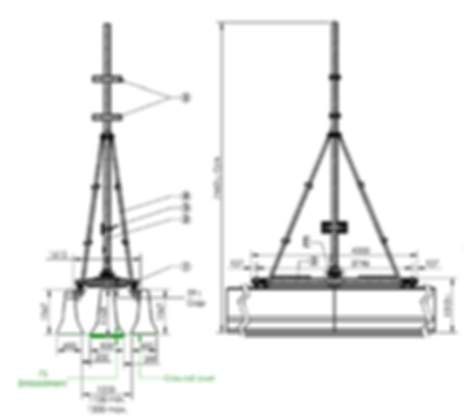 Barrier Mounted Sign - Shop Drawing1.png