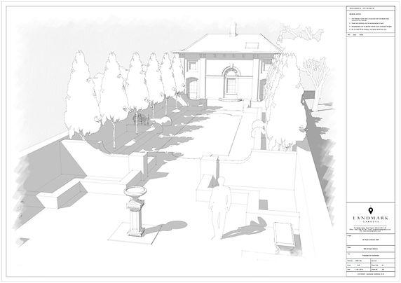 3D garden rendering .jpg