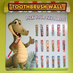 Toothbrush Wall