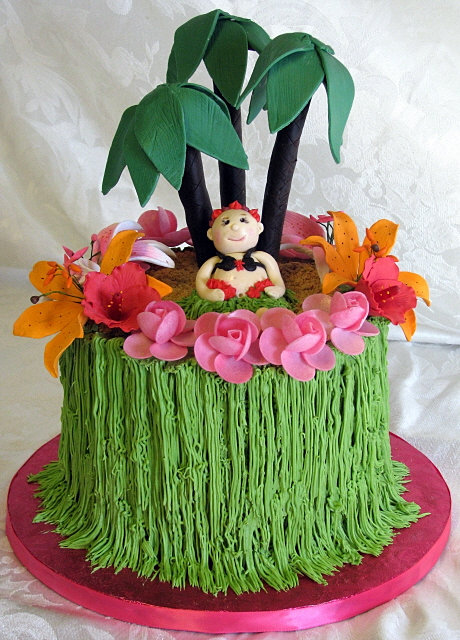 bella cakes by thena luau baby