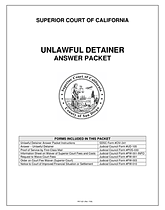 what is an unlawful detainer in CALIFORNIA