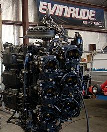 Als Outboard Lake Havasu Evinrude Motor rebuild