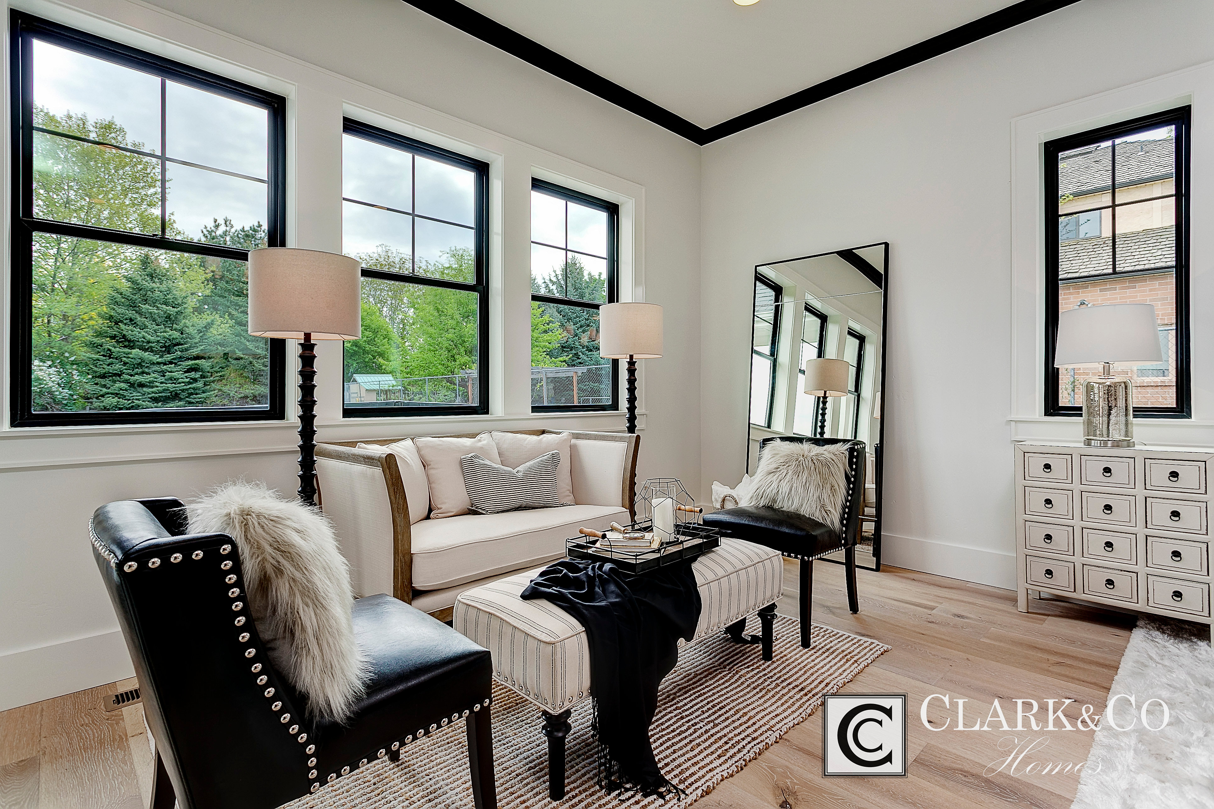 Black windows for homes - Clark And Co Homes