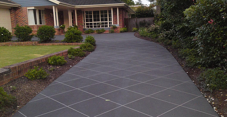 Driveway Stencil Patterns in Stencil Pattern For a