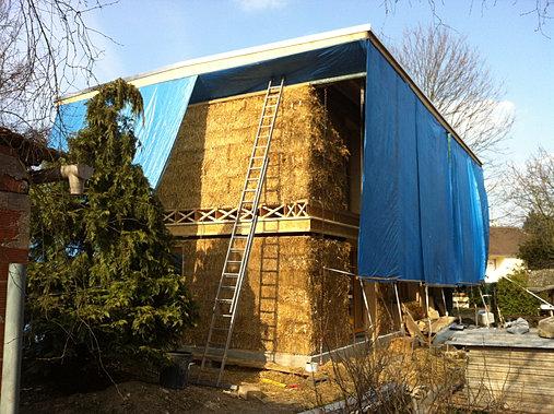 Marguerite construction ecologique maison en paille for Construction de maison en paille