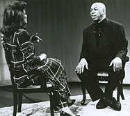 Janet with Geoffrey Holder