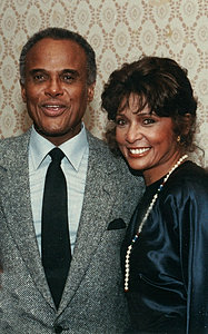 With Harry Belafonte