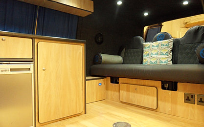 Volkswagen camper van conversion and interiors specialists for Vw t4 interior designs