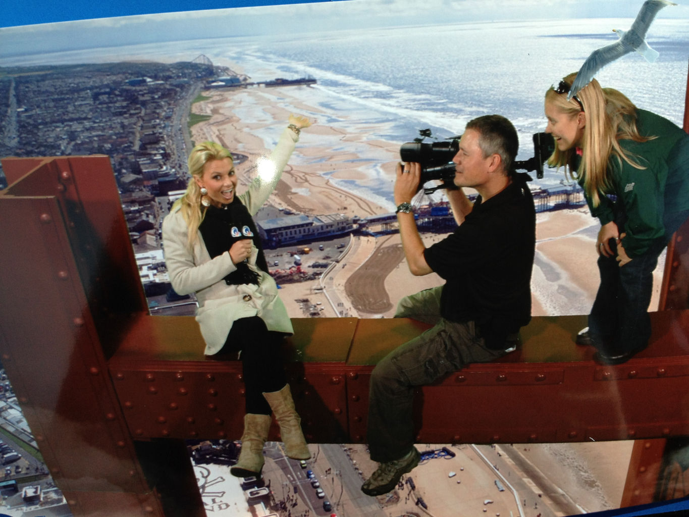 Blackpool Tower Shoot Crew