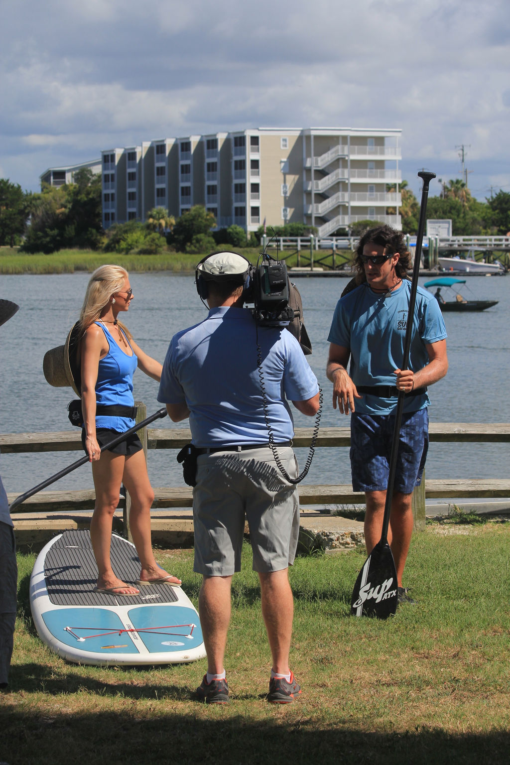 Paddleboarding Shoot in SC