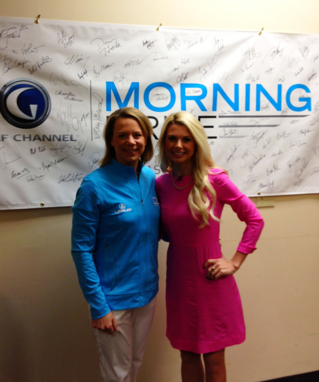With Annika on Morning Drive