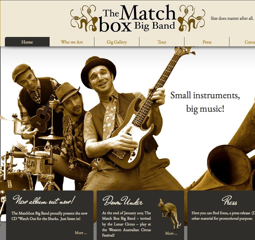 Matchbox Big Band