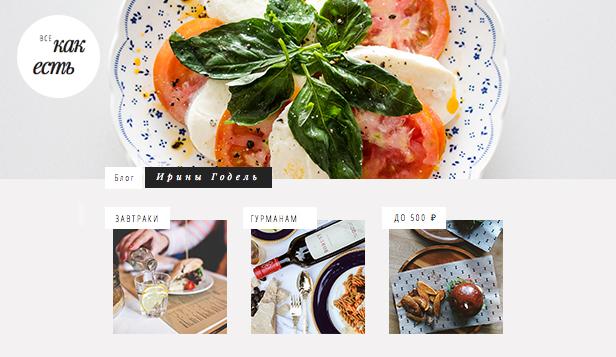 Блог о еде