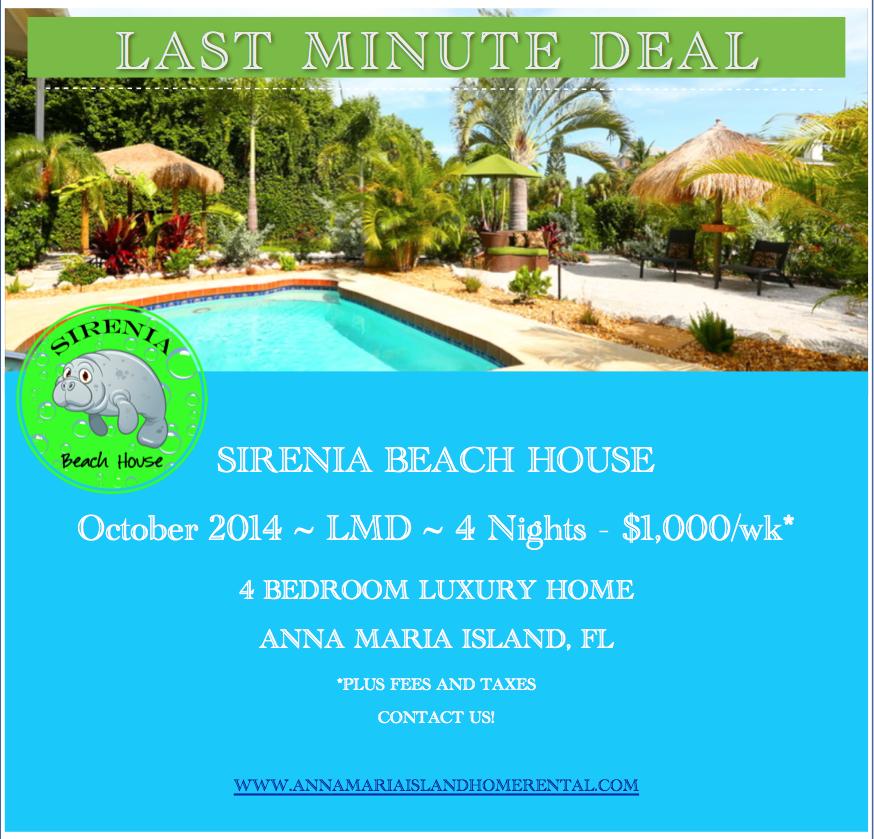 Sirenia Beach House Anna Maria Island