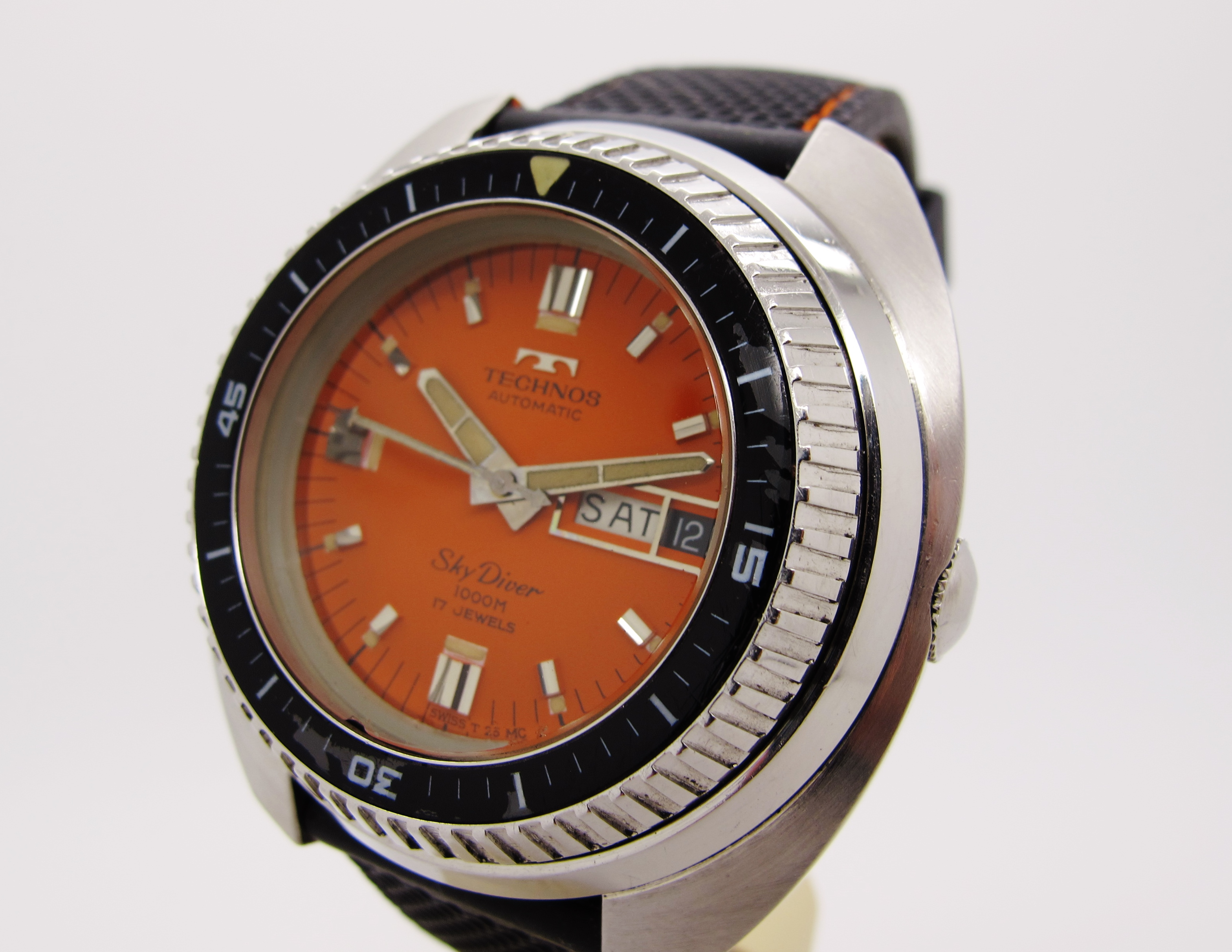 ... Watches Rolex Military Dive watch | Technos vintage SkyDiver 1000m