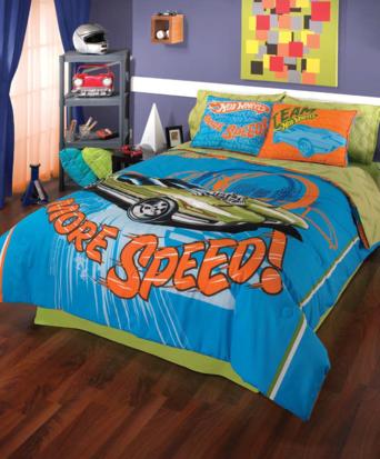 My room recamaras infantiles for Decoracion de cuarto hot wheels