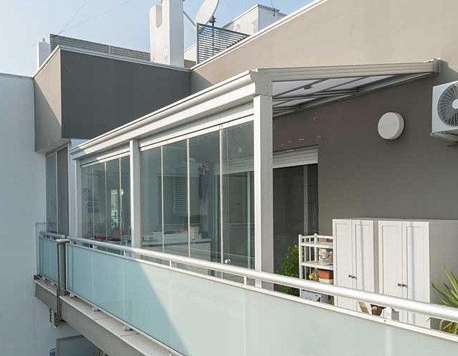 Awesome chiudere terrazzo con vetrata images amazing design