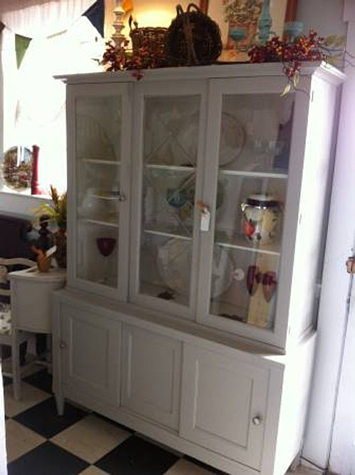With television cabinet doors