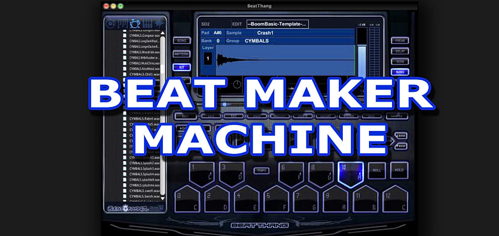 beat maker machine