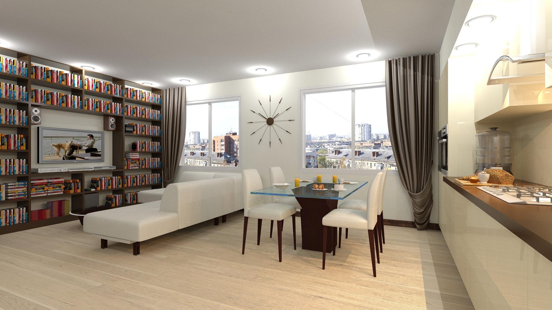 Дизайн квартир 80 кв