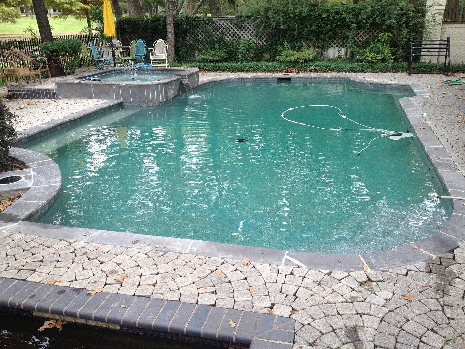 Swimming Pool Remodel Pool Tile And Pool Resurfacing Silvermist Flagstone Pool Coping