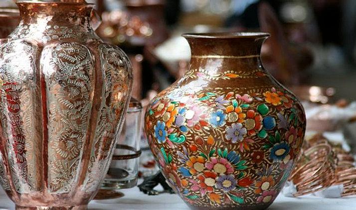 jarrones decorados de cobre xccjpg