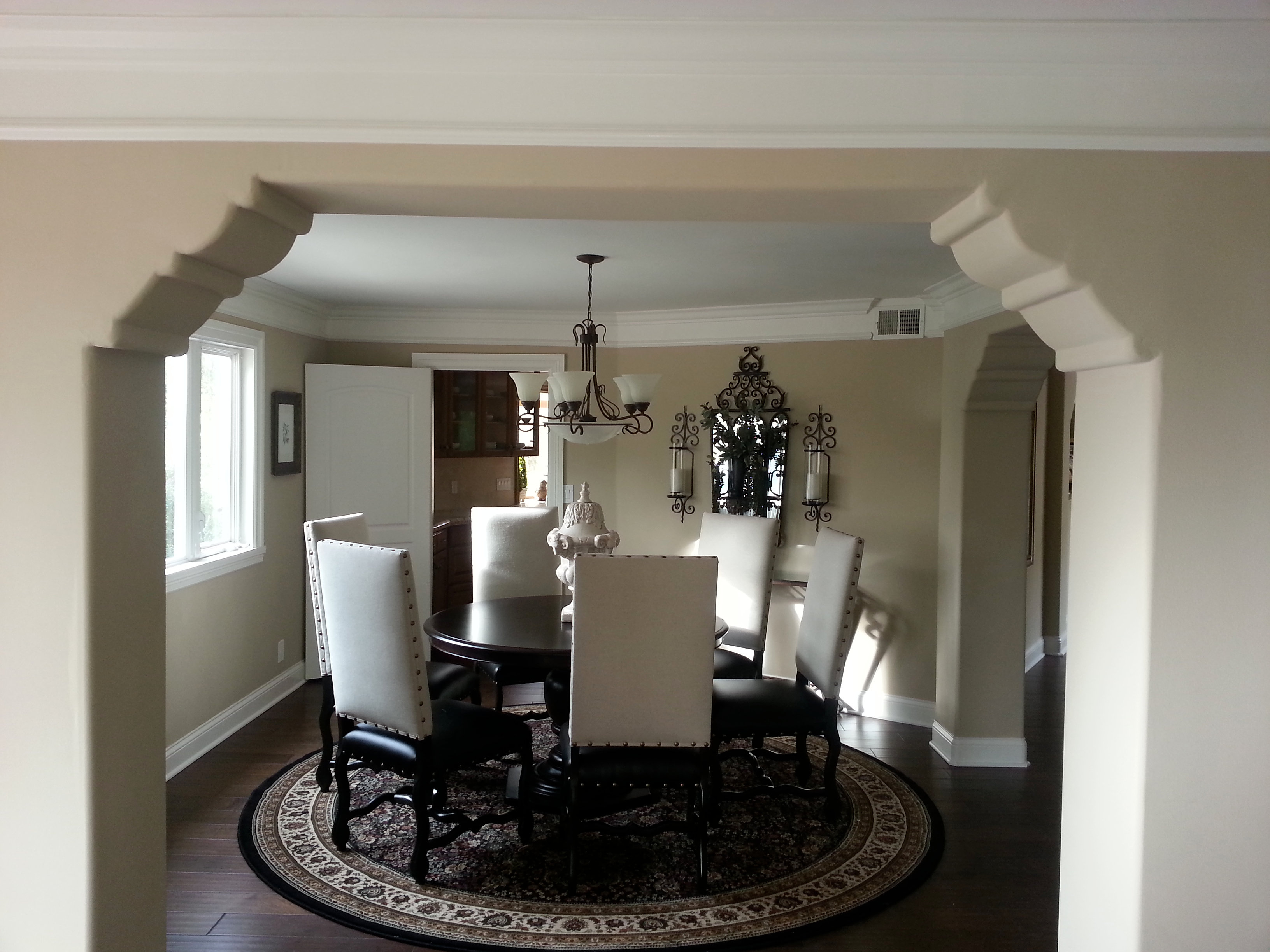 Hickory floors. HOME REMODELING Thousand Oaks and LA area   Plaster architectural