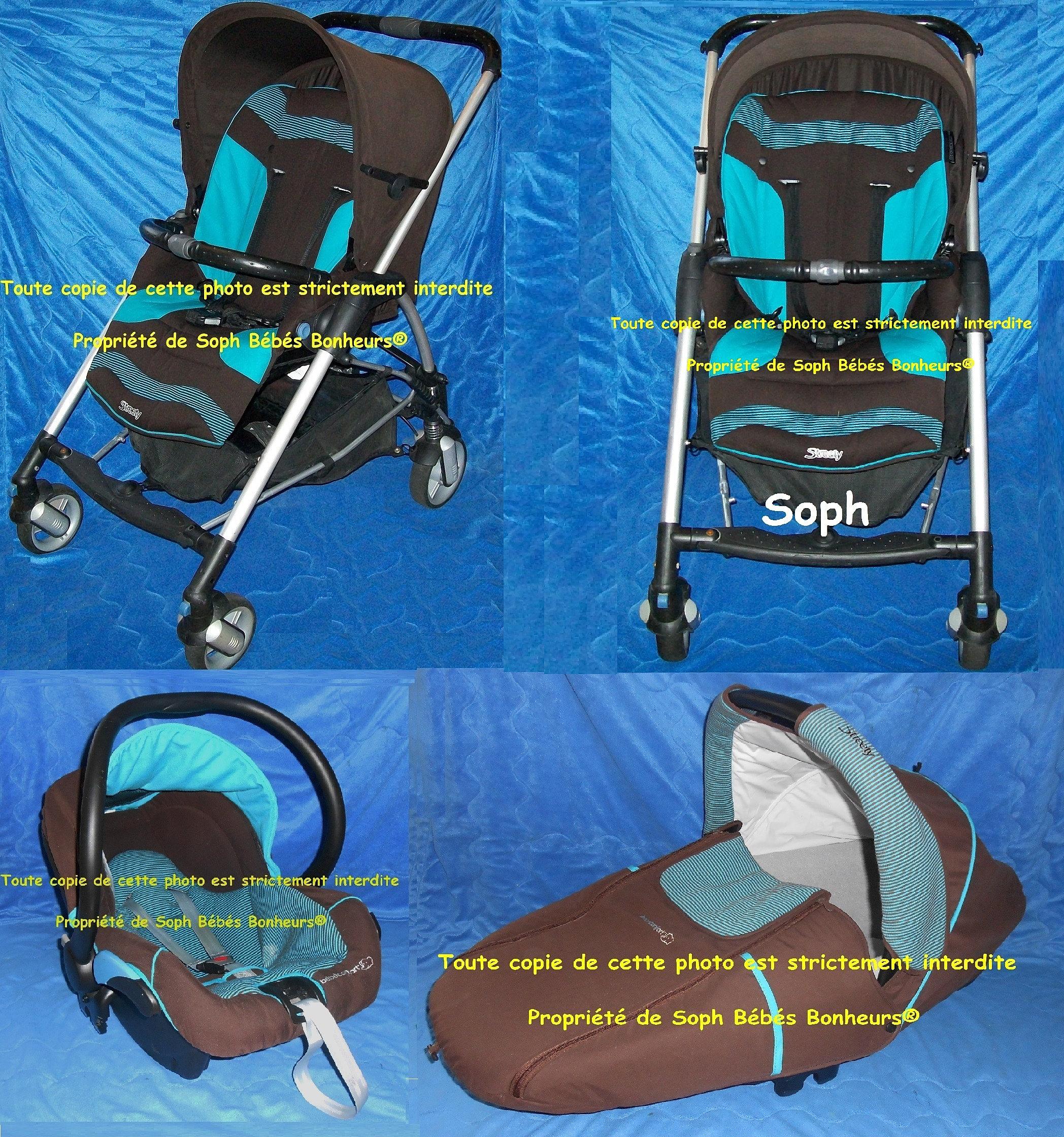 soph bebes bonheurs trio high trek choco mint. Black Bedroom Furniture Sets. Home Design Ideas
