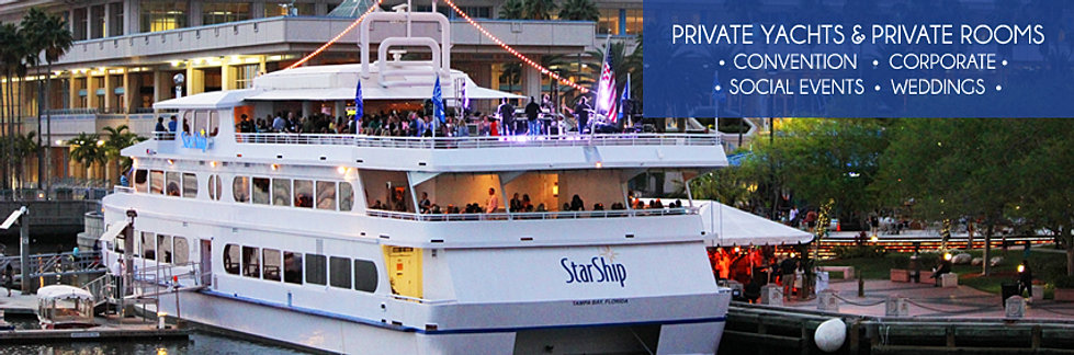 Special event cruises tampa bay fl yacht starship review Tampa aquarium military discount