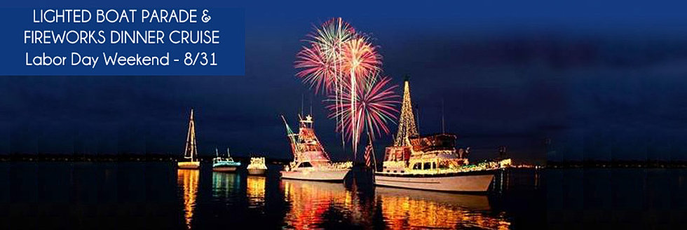Summer Lighted Boat Parade Cruise